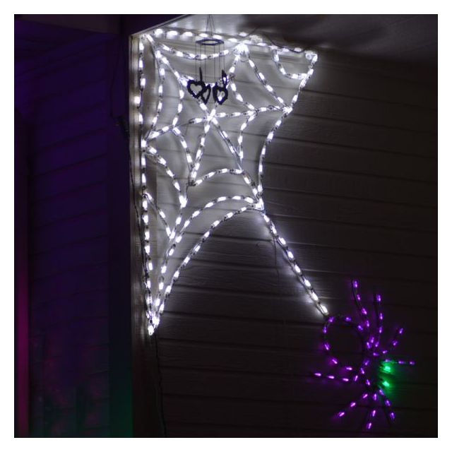 LED Spider Corner web