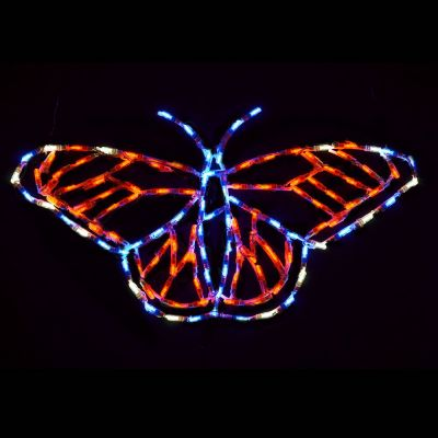 LED Spring Monarch Butterfly