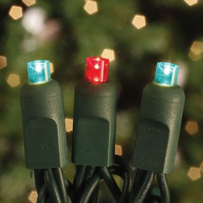 70's LED Concave Light Set Red/Green