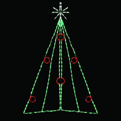 LED Christmas Tree With Berries