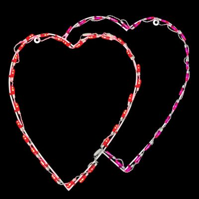 LED Double Heart