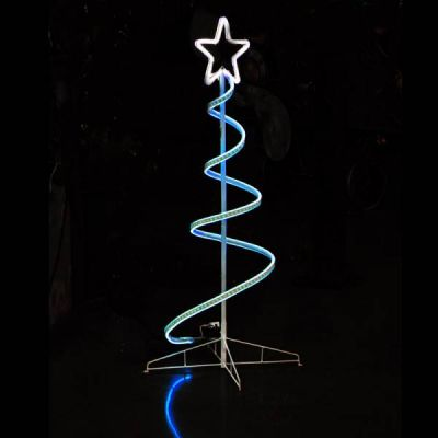 3D LED Neon Spiral Tree (RGB) w / Remote