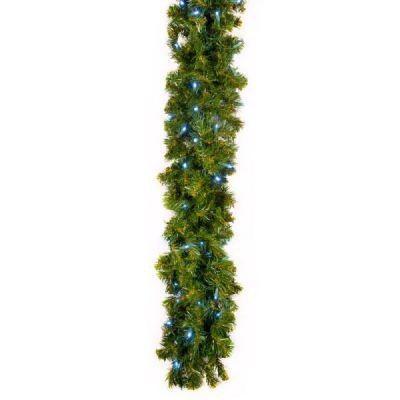 LED 9' Garland Concave (Blue)