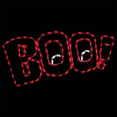 LED Boo Sign
