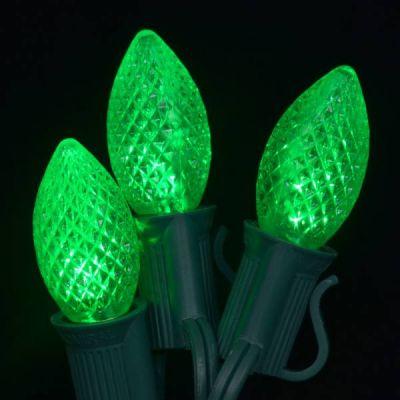 LED C7 Bulb (Green)