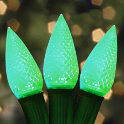 LED C9 Bulb (Green)