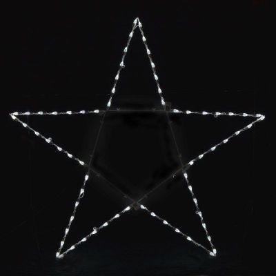 LED Collapsible 5-Point Star with C7s