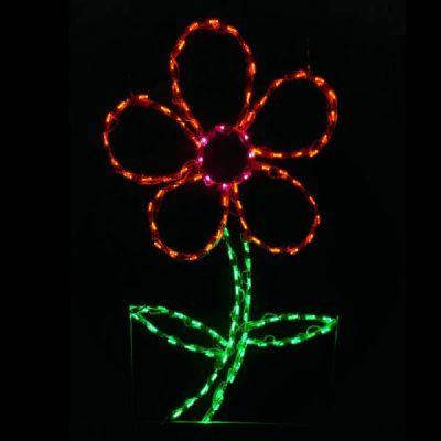 LED Daisy Orange