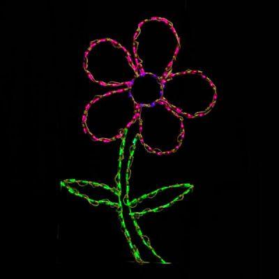 LED Daisy Pink