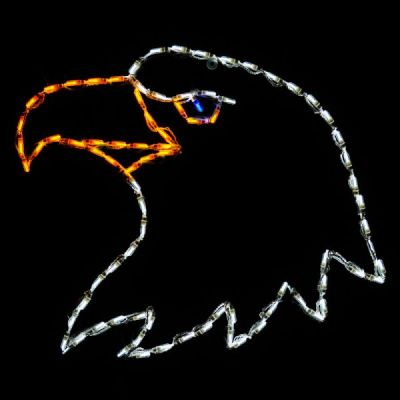 LED Eagle's Head