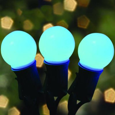 LED G32 Opaque Blue Bulbs