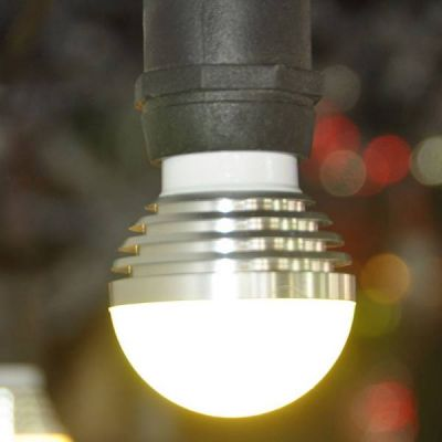 LED G50 Bulb with E26 base (Warm White)