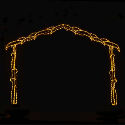 LED Nativity Scene Hut