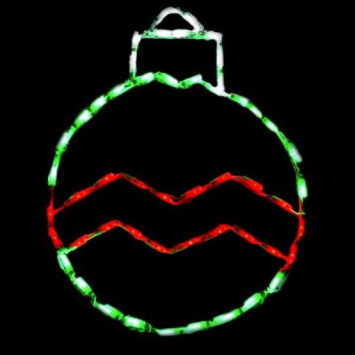 LED Ornament Hanging (Round)