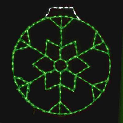 LED Snowflake Ornament 36