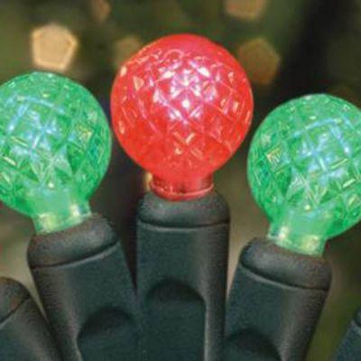 LED Raspberries 70's Red/Green