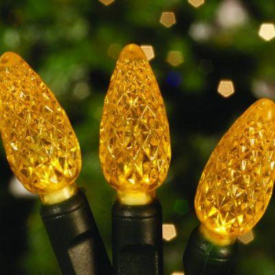 LED 70's Strawberries Gold