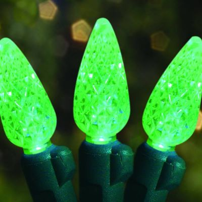 70's LED Strawberries Green