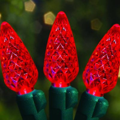 70's LED Strawberries Red
