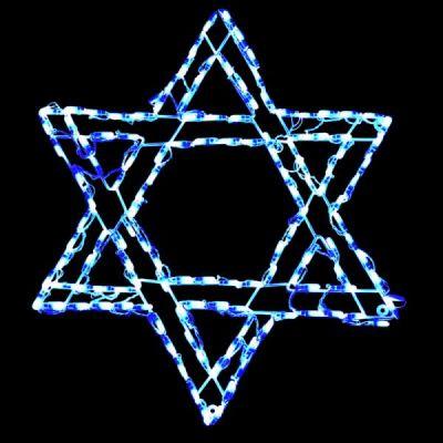 LED Star of David