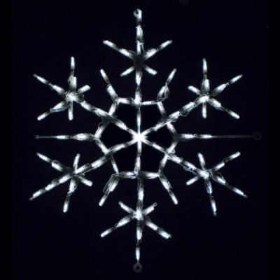 LED Snowflake 1 (White)