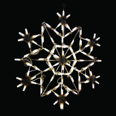 LED Snowflake 3 (Warm White)
