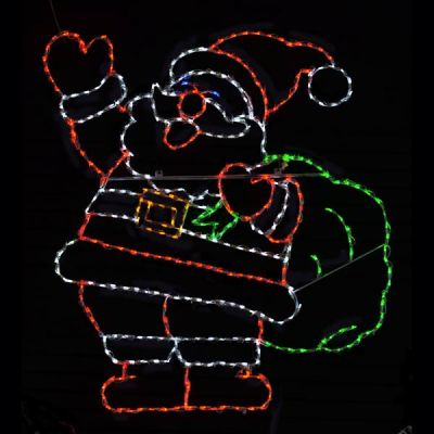 LED Jolly Santa