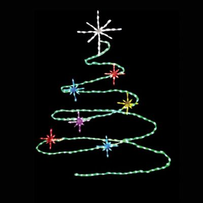LED-SPT72 - LED Spiral Tree