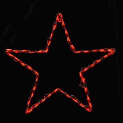LED Star Red