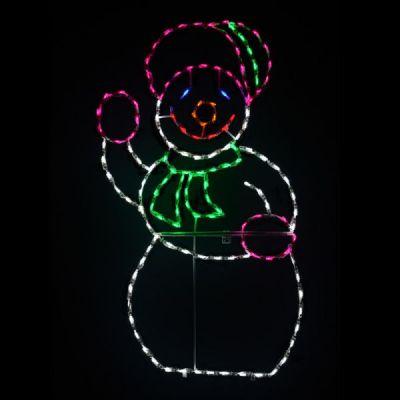 LED Snow Woman