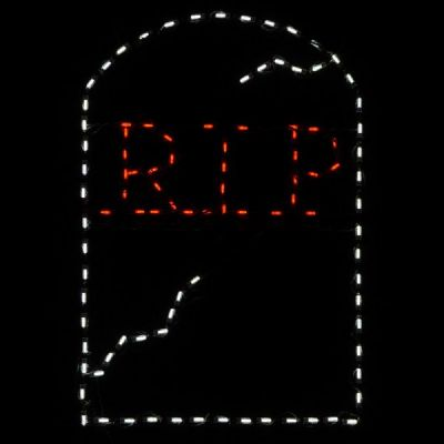 LED RIP Tombstone