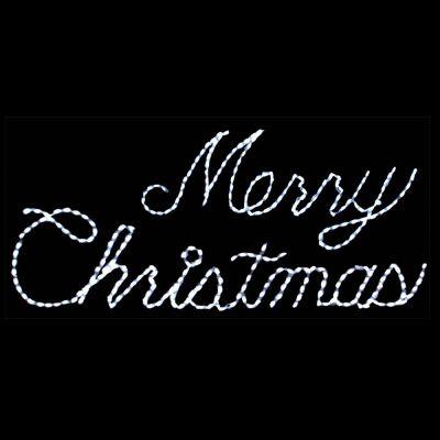 LED Merry Christmas (White)