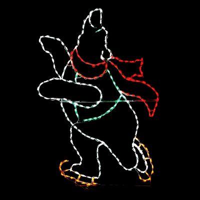 LED Skating Polar Bear - Boy