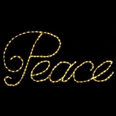 LED Peace (Warm White)