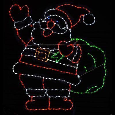LED Jolly Santa