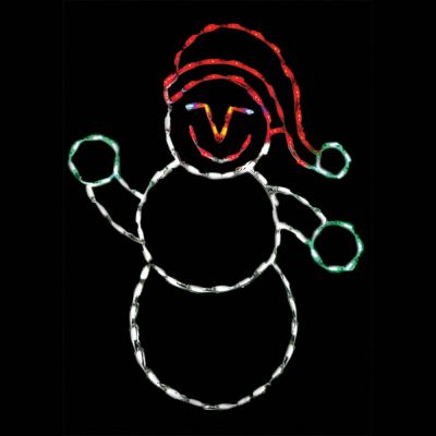LED Snowman Baby