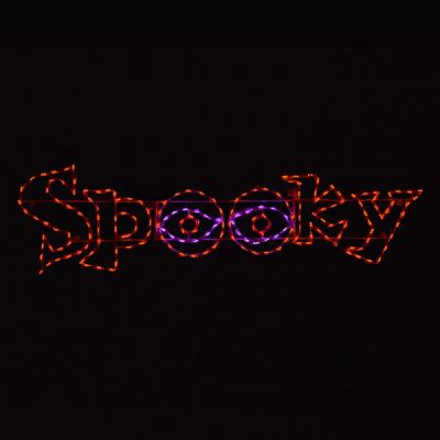 Spooky Word Sign