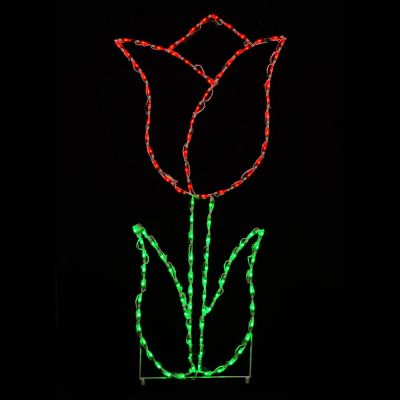 LED Tulip Red
