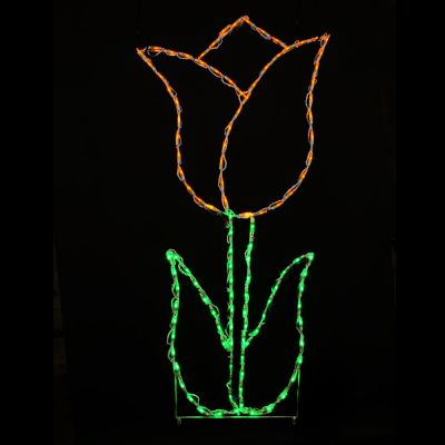 LED Tulip Yellow