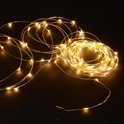 Wire Lights - 100 Bulbs (Warm White)