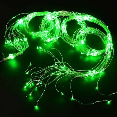 Wire Lights - 360 Bulbs (Green)