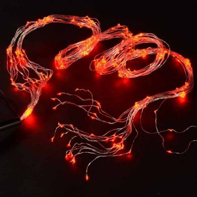 Wire Lights - 360 Bulbs (Red)