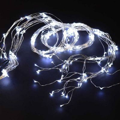 Wire Lights - 360 Bulbs (White)