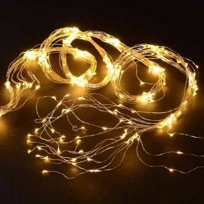 Wire Lights - 360 Bulbs (Warm White)