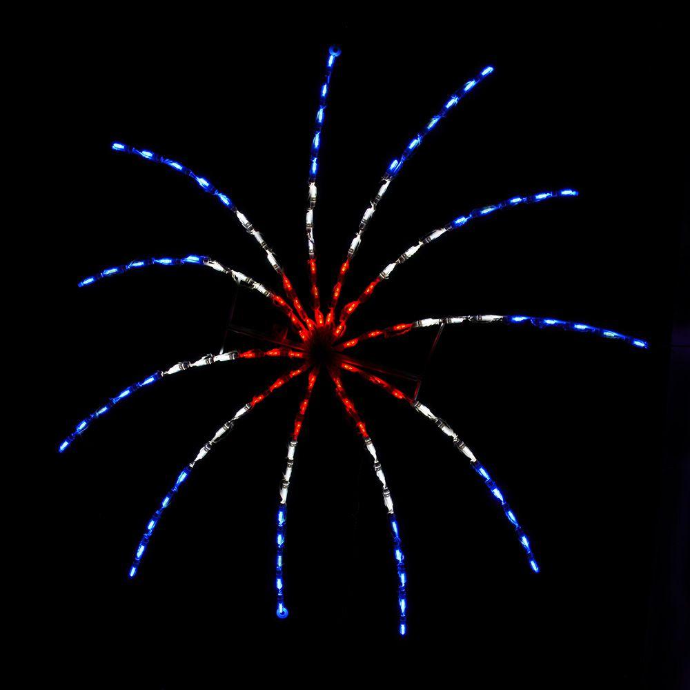 Firecracker Large (RWB)
