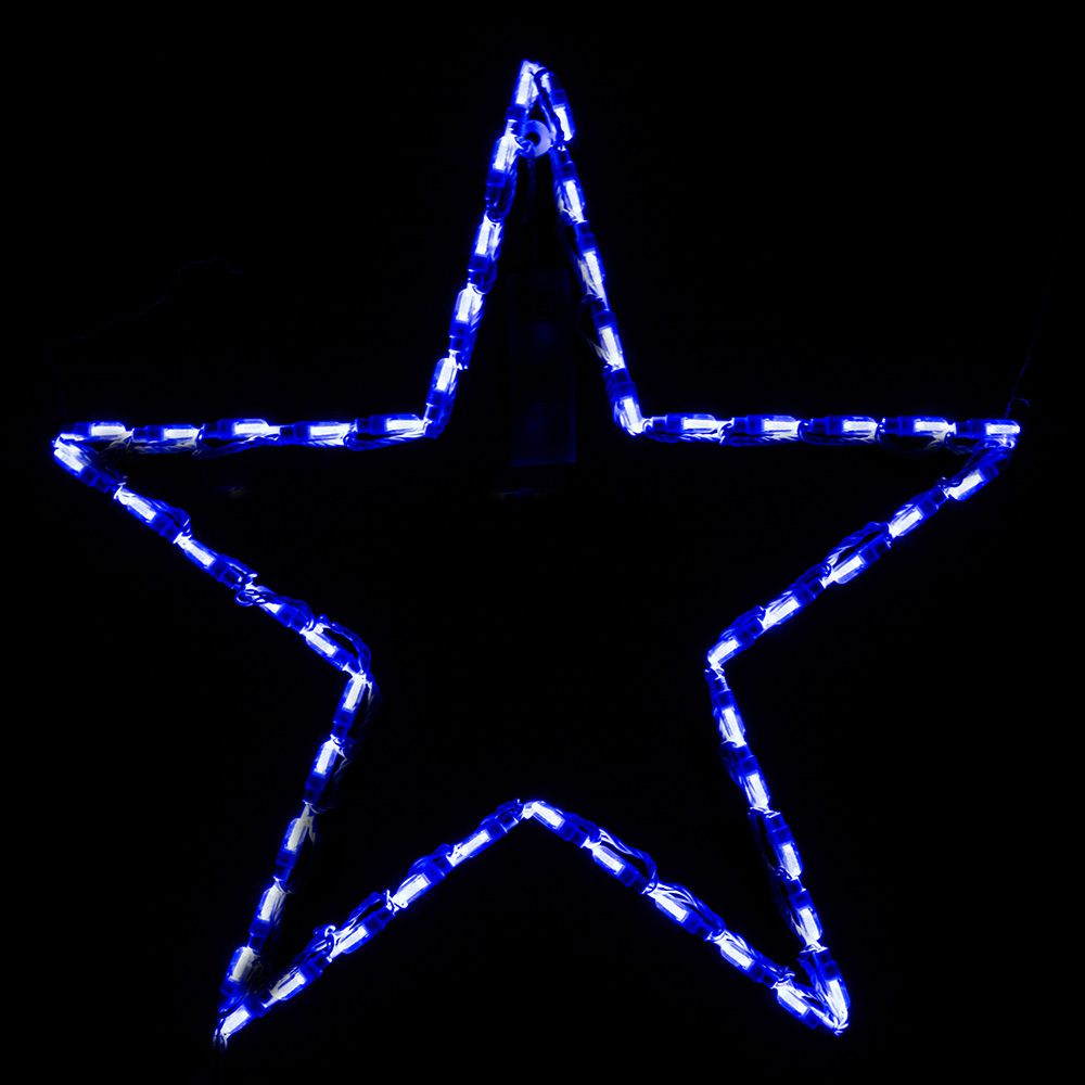 LED Star Blue