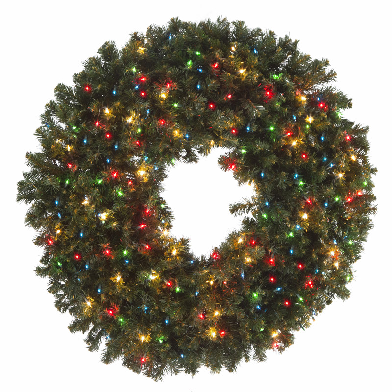 Incandescent Wreaths (Mini Bulbs)
