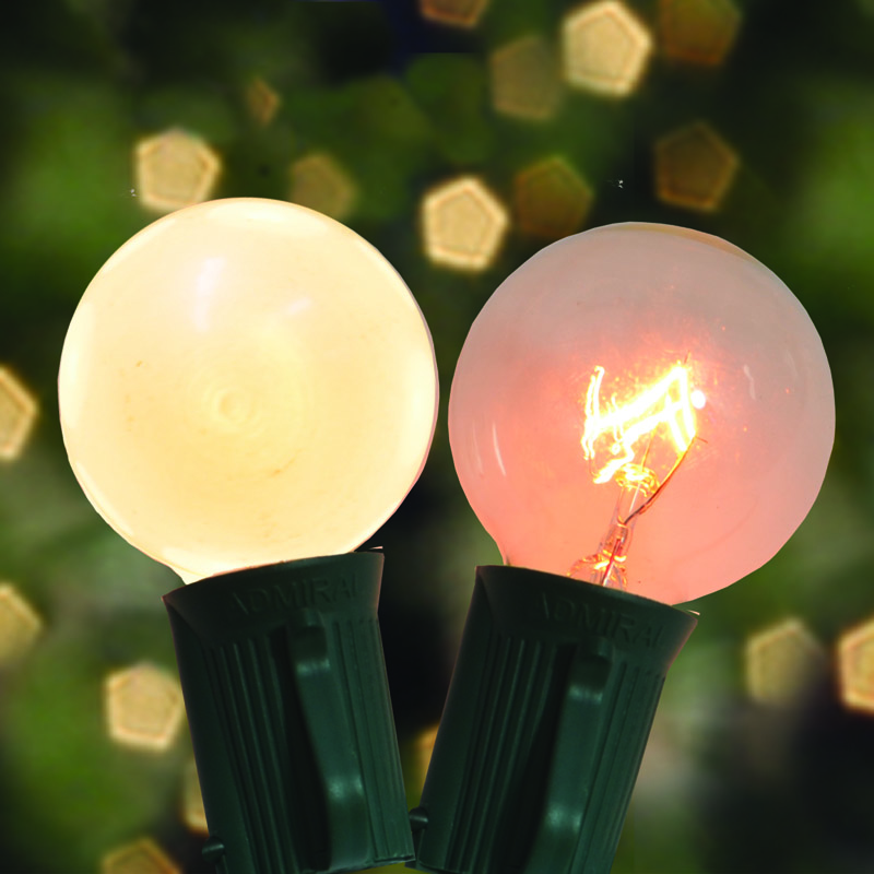 Incandescent G40 & G50 Globe Lights