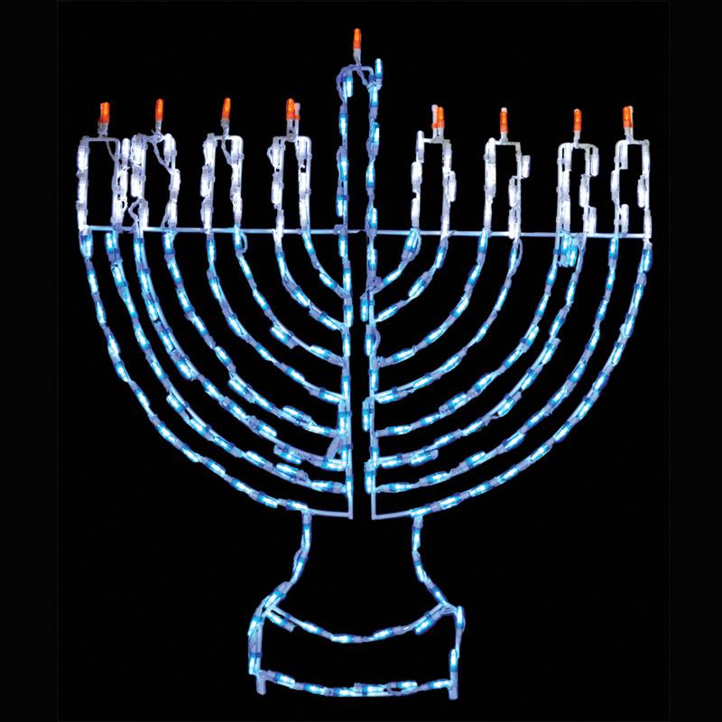 LED Hanukkah